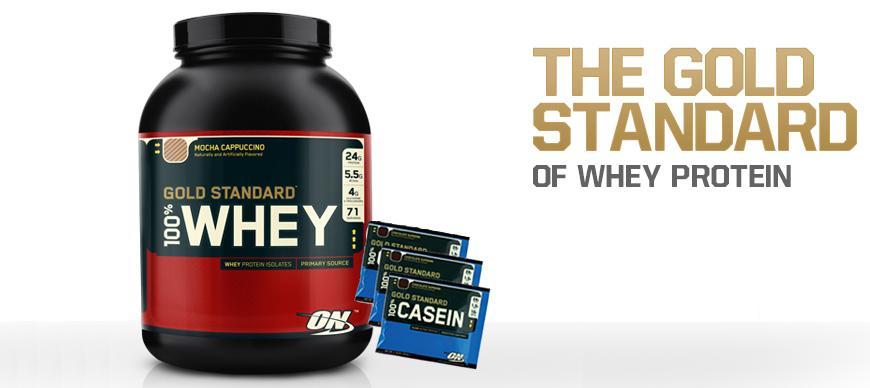 whey gold standard + casein sachets