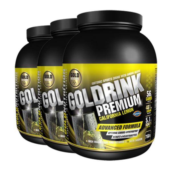 Gold Drink Premium - 3 x 750g