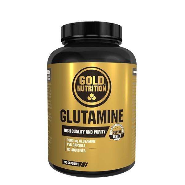 Glutamine - 180 cápsulas - Gold Nutrition