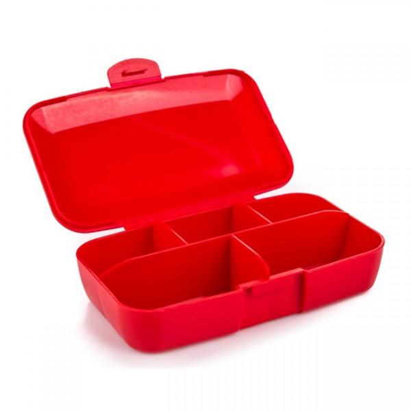 Pill Box Várias Cores Vermelho