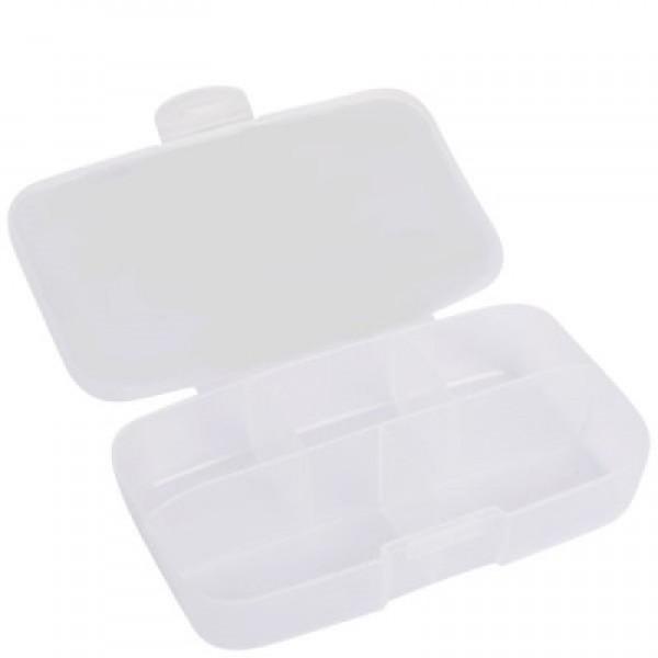 Pill Box Várias Transparente