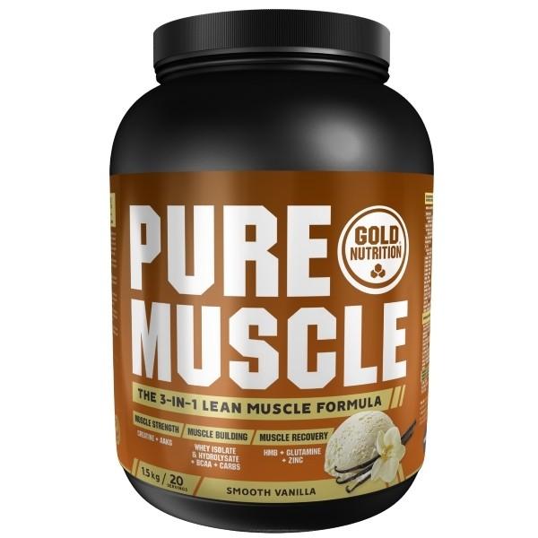 Pure Muscle Baunilha - 1,5Kg