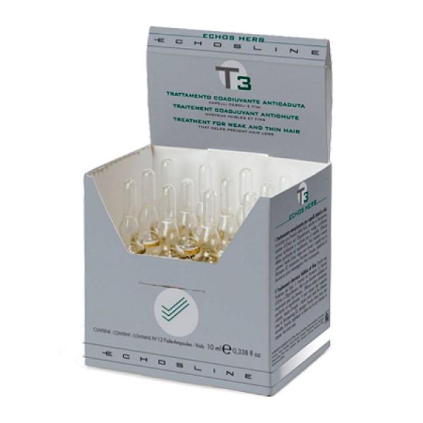 T3 Echos Herb - 12 ampolas x 10ml
