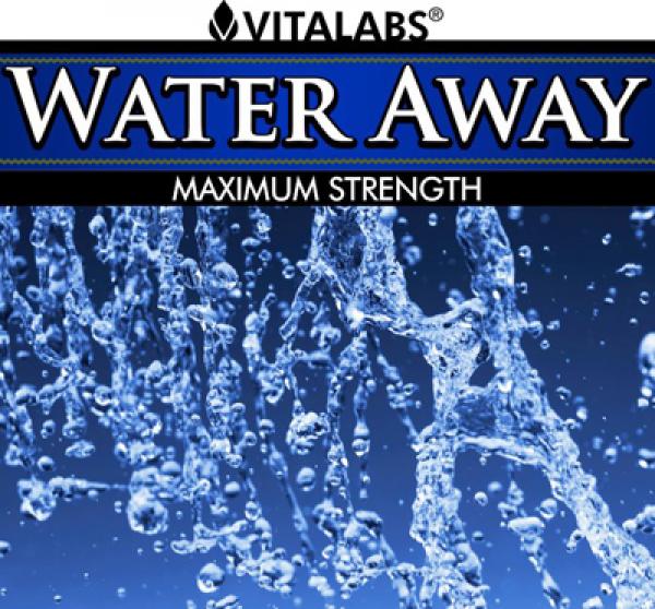 Water Away 60 Caps Vitalabs Label