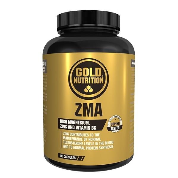 ZMA - 90 cápsulas - Gold Nutrition
