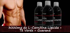 Super Carnitina Reforzada con Té verde y Guaraná